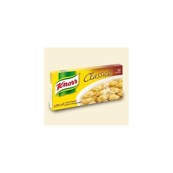 Dadi Knorr  10 Cubetti Brodo Classico