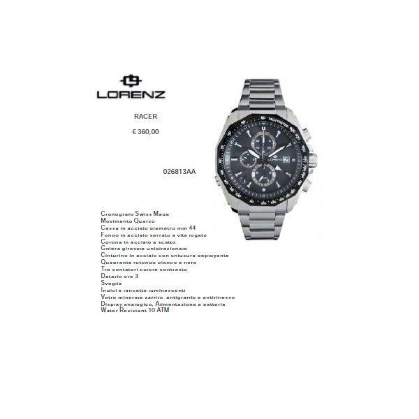 Lorenz Racer Nero