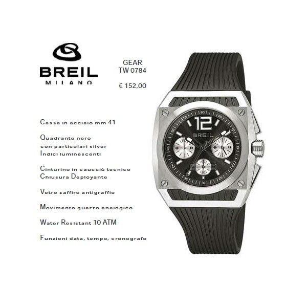 Breil GEAR Silver