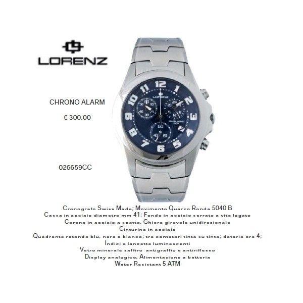 Lorenz CHRONO ALARM Blu