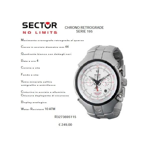 Sector Chrono Retrograde Serie 195