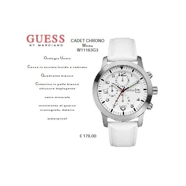 Guess CADET CHRONO White