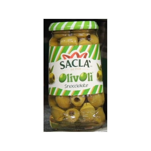 Olive Saclà Verdi Snocciolate gr. 300