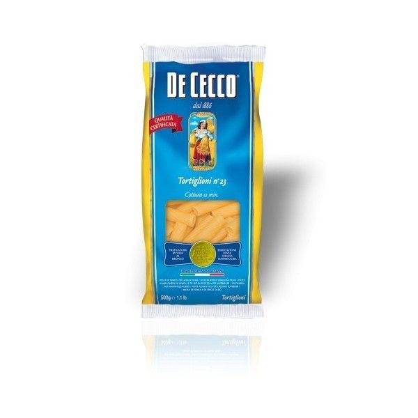 De Cecco Tortiglioni nr. 23 Gr. 500 Pasta