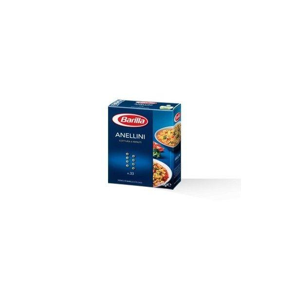 Barilla Anellini nr. 33 gr. 500 Pasta