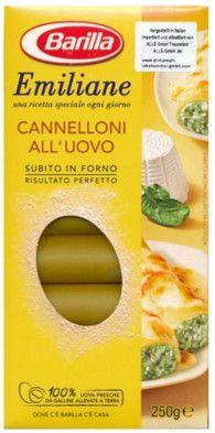 Emiliane Barilla Cannelloni nr.188 Gr. 250