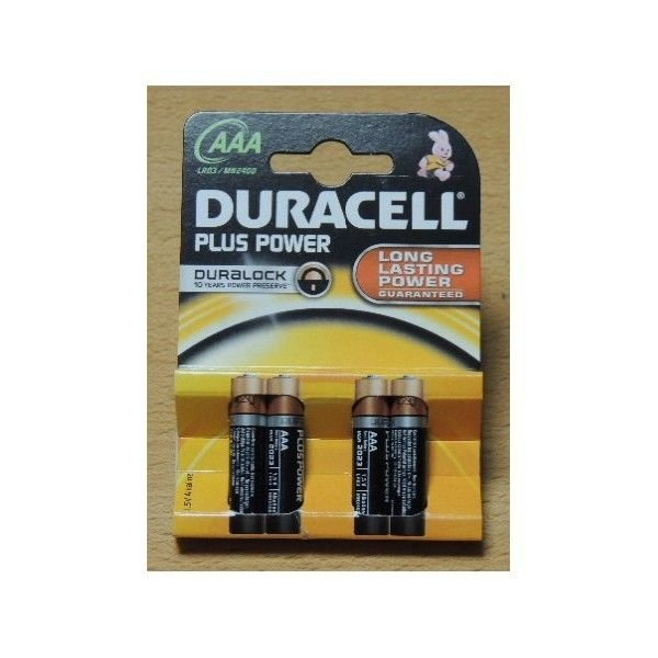 Duracell Plus Power MiniStilo x 4 AAA