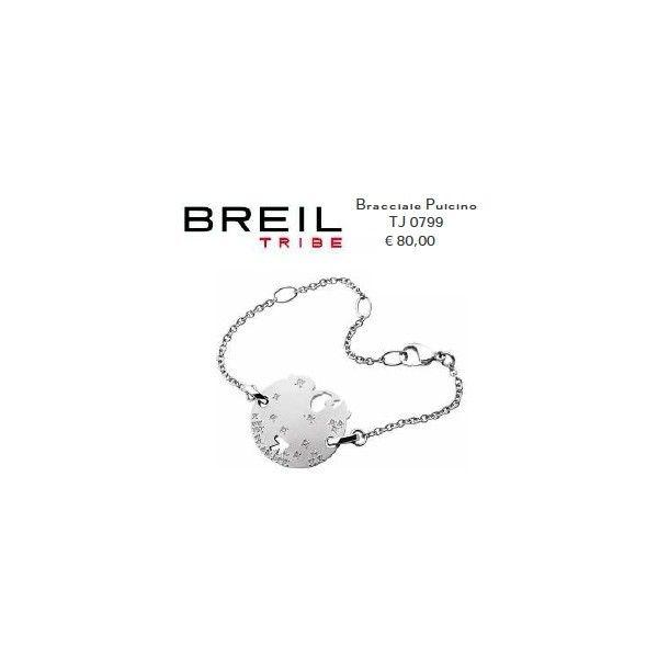 Breil Tribe Bracciale Pulcino Acciaio