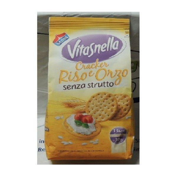 Cracker Riso e Orzo Vitasnella S/Strutto gr. 250