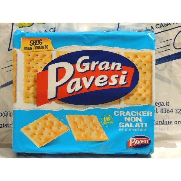 Cracker Gran Pavesi Non Salati gr 560