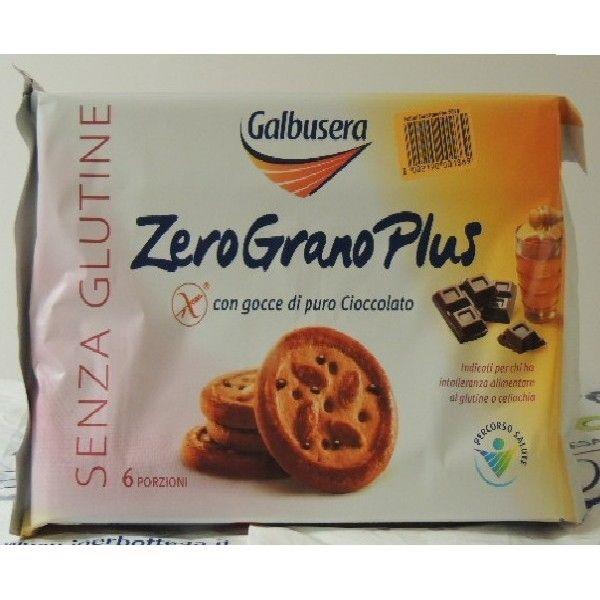 Zero Grano Plus Ciocc. S/Glutine gr 300 Galbusera Biscotti