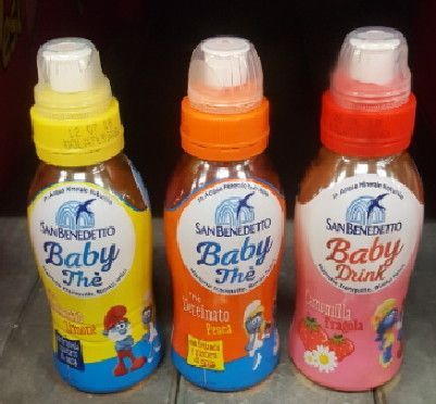Camomilla Baby Drink Fragola cl 25 S.Benedetto