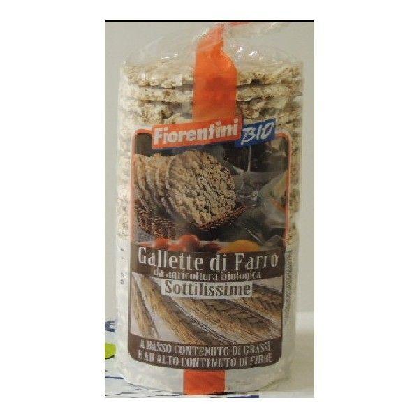 Gallette Farro Bio Sottili gr 120 Fiorentini