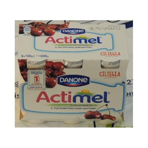 Actimel Danone 6x100 Ciliegia