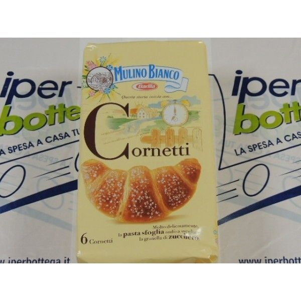 Cornetti X 6 Mulino Bianco gr 240