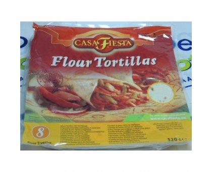 Flour Tortillas  pz. 8 Casa Fiesta gr 320