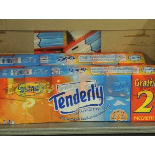 Fazzoletti Di Carta Tenderly 10 + 2
