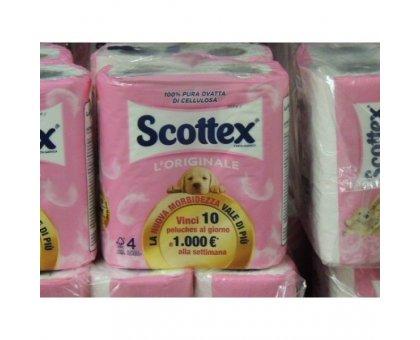 Scottex  X 4 Carta Igenica