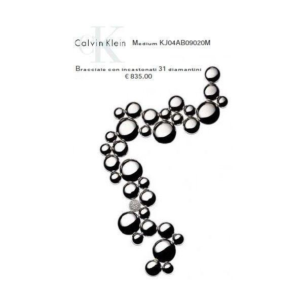 Calvin Klein Bracciale con incastonati 31 Diamantini M