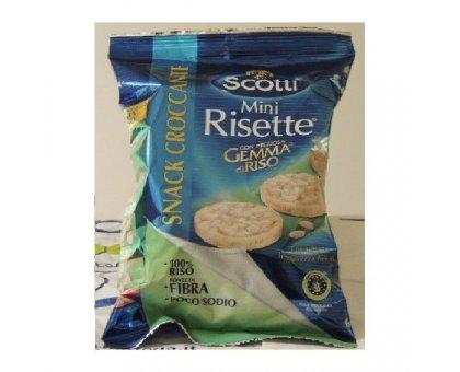 Snack Mini Risette Bio gr 60 Scotti
