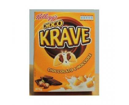 Kellogg's Choco Krave Cioccolato/Nocciole gr 375