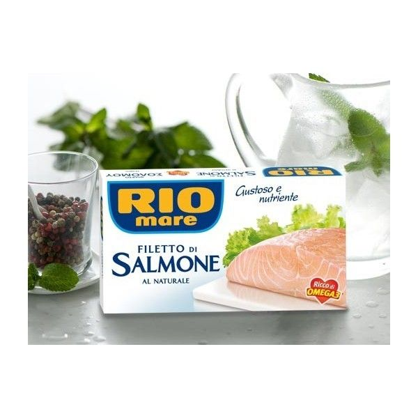 Filetto Salmone Rio Mare Al Naturale gr. 150
