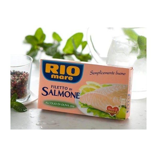 Filetto Salmone Rio Mare Olio Di Oliva gr. 150