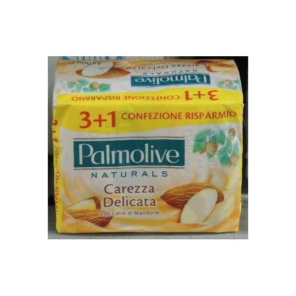 Sapone Palmolive X 3 + 1 Bianca