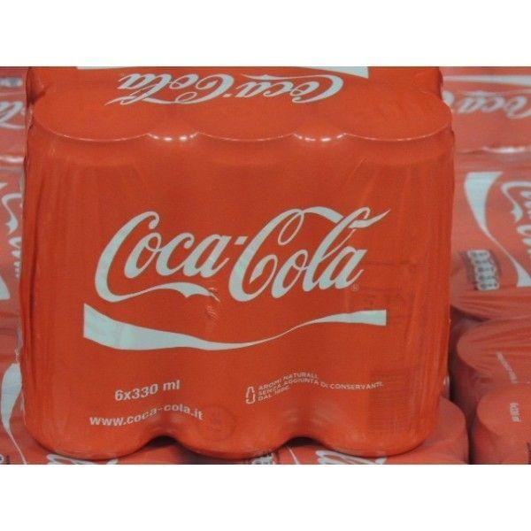 CocaCola Lattina CL 33 X 6