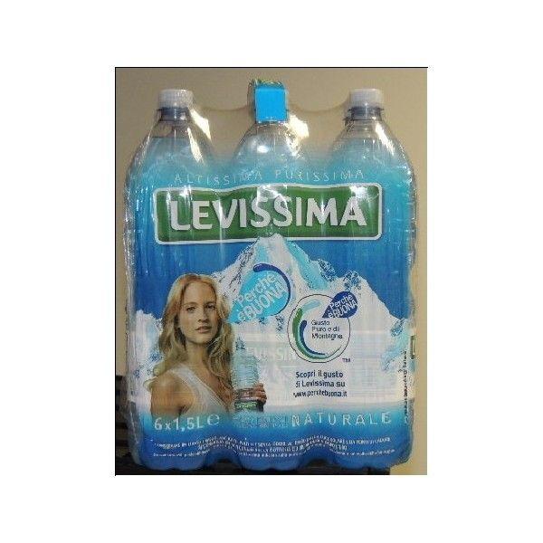 Levissima Lt 1,5 X 6 Acqua Naturale