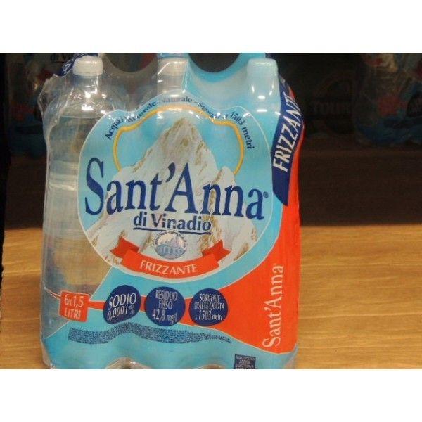 Acqua Sant'Anna Frizzante Lt 1.5 X 6