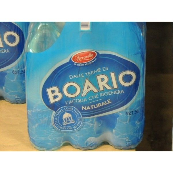 Acqua Boario Naturale Lt 1.5 X 6