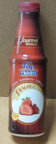 Topping Fabbri Fragola gr 950 Gluten Free