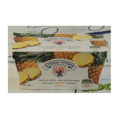 Yogurt Vipiteno 2x125 Ananas