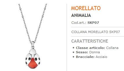 Collana Morellato Coccinella