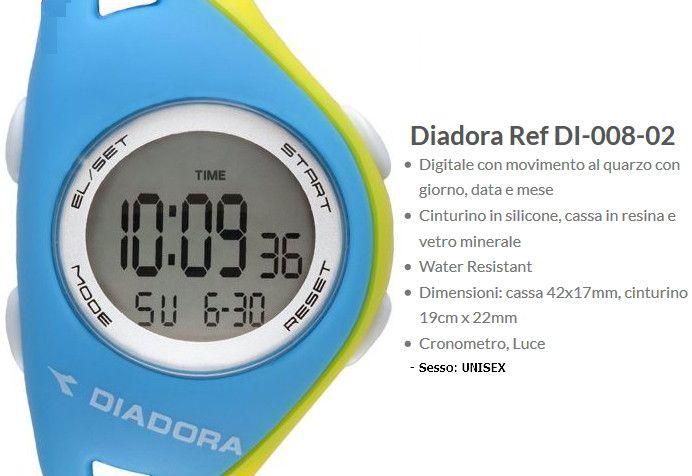 Diadora Ref Orologio Azzurro / Giallo Unisex