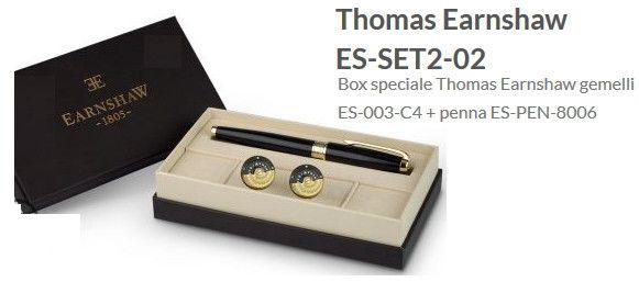 Thomas Earnshaw Penna Stilografica con Gemelli