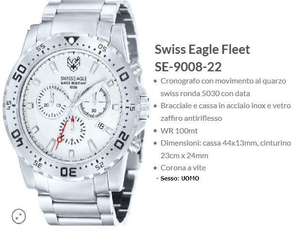 Swiss Eagle Fleet Uomo