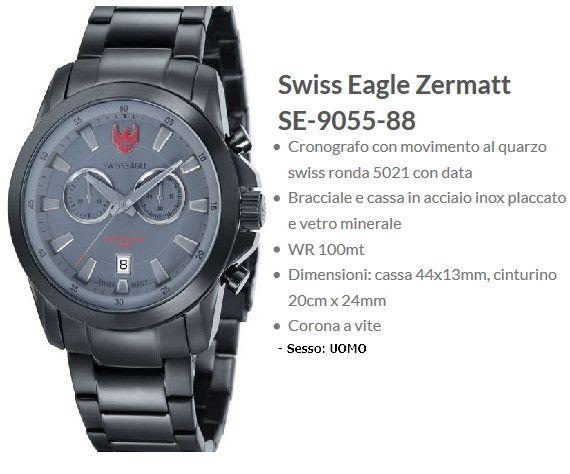 Swiss Eagle Zermatt Uomo