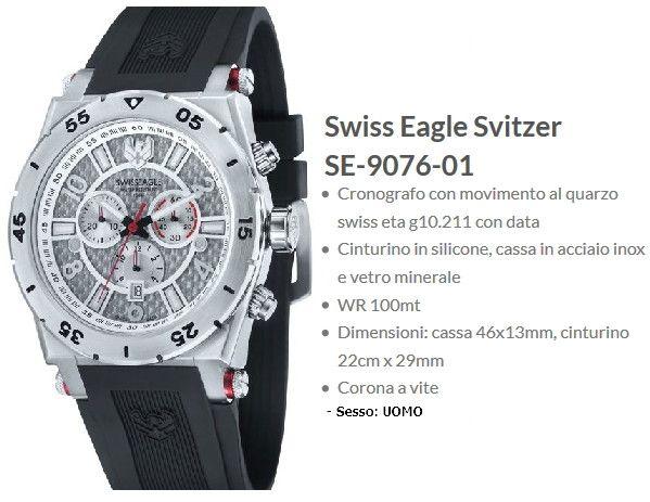 Swiss Eagle Svitzer Uomo
