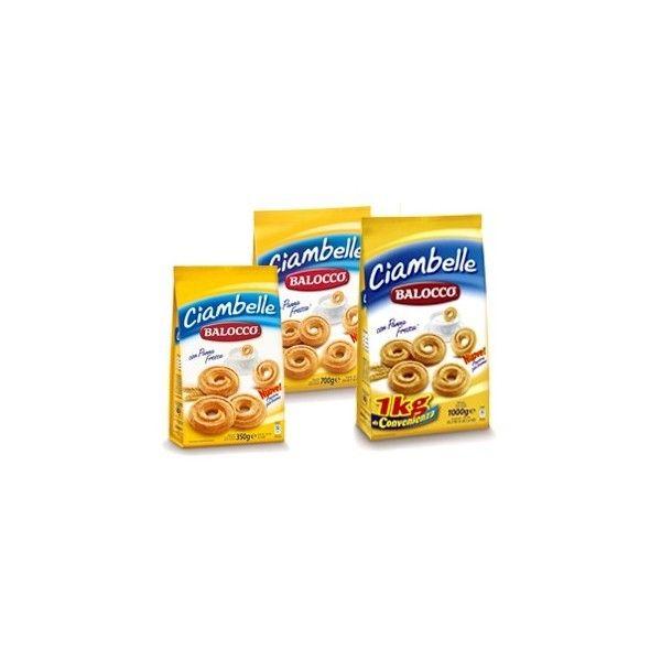 Balocco Gr. 700 Ciambelle Panna Biscotti