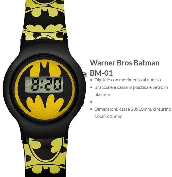Warner Bros Orologio Batman 1