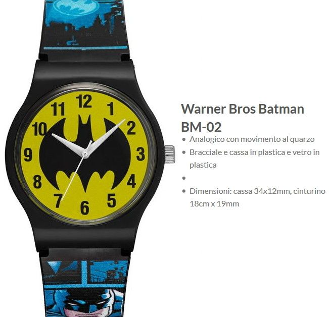 Warner Bros Orologio Batman 2