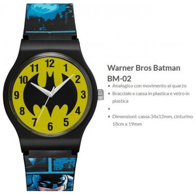 Warner Bros Orologio Batman 2