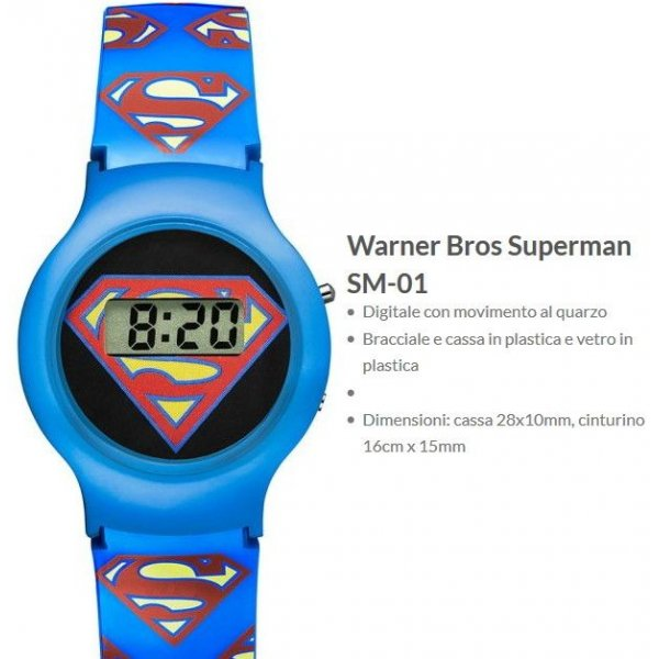 Warner Bros Orologio Superman 1