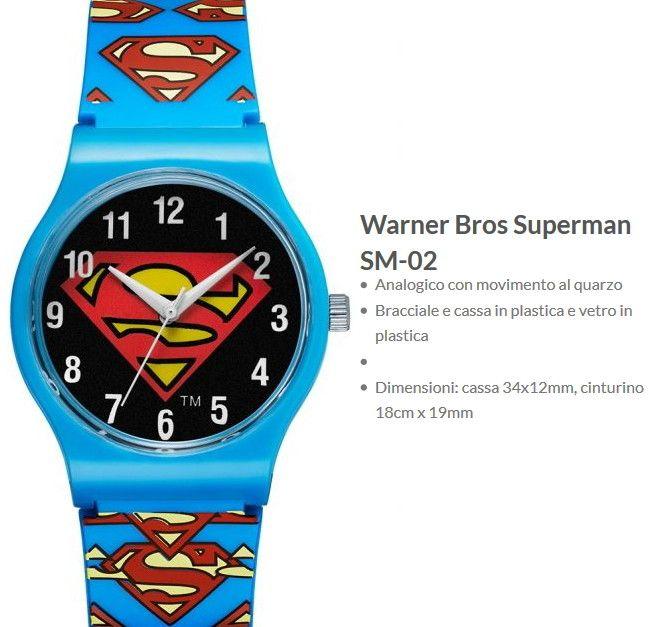 Warner Bros Orologio Superman 2