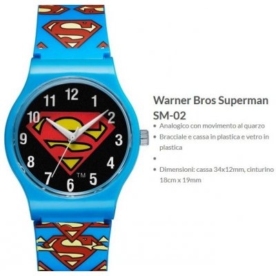Warner Bros Orologio Superman 2