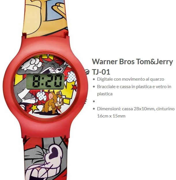 Warner Bros Orologio Tom&Jerry