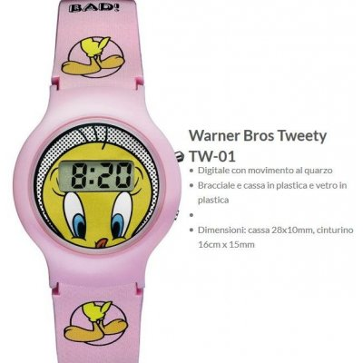 "Warner Bros Orologio Tweety ""Titti"" 1"
