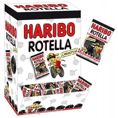 Haribo Rotella Liquirizia incartata pz 200